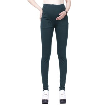 Fashion Cotton Maternity Pants Skinny Pregnant Women Trousers Slim Pencil Pants Leggings 5 Colors - intl