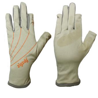zigzag GLV00810- Găng tay Easy touch chống nắng UPF50+ (kem xám)