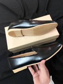 Giày Lười Da Bò Thật Thời Trang (Đen)