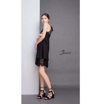 Đầm Suông Hở Lưng Quyến Rũ Xavia Clothes Jamie