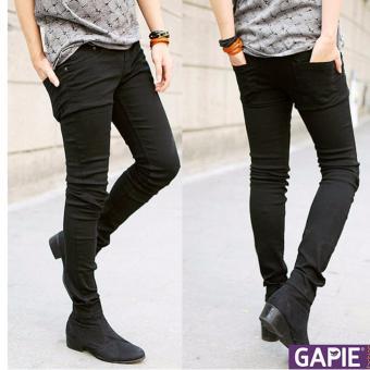 Quần Jeans nam phong cách trẻ trung, đơn giản ( Đen)