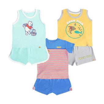 3 Bộ quần áo bé trai Vườn Xuân