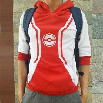 Áo khoác pokemon (Đỏ)