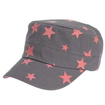 Unisex HipHop Stars Hat Baseball Cap Grey