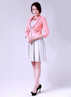 Áo vest đính hoa tay lở thời trang Bella moda