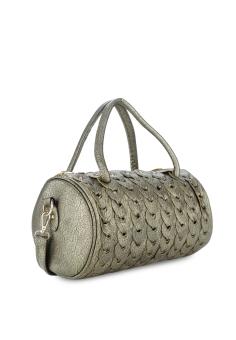 Túi đeo chéo hình ống Vinadeal A07 (Xám bạc)