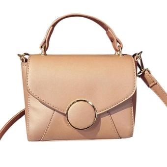 Women Fashion Handbag Shoulder Bag Tote Ladies Purse Small Square Bag PK - intl