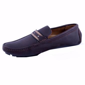 Giày lười nam Da Thật Chính hãng Giày Da Miền Trung VCT8LZD99N-1