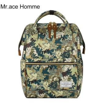 Balo Thời Trang Mr.ace Homme MR16B0336B01 / Xanh lá phối màu