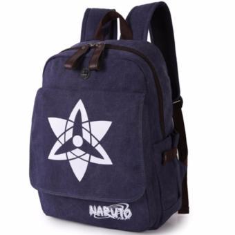 Ba Lô Vải Thô Naruto Tâm Bình N3 (Xanh Đậm)