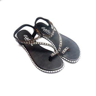 Giày xăng đan Lopez Cute D99 (Đen)