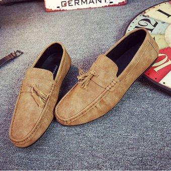 Giày lười nam GM251 (Nâu)