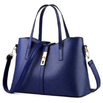 Túi xách nữ Queen kèm dây đeo Letin Fashion Handbags T6868-20-250 (Xanh đậm)