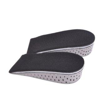 1 pair 3.3cm Insole Heel Lift Insert Shoe Pad Height Increase Cushion Elevator Taller
