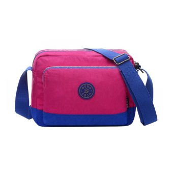 Fashion Women Nylon Crossbody Bag Zipper Adjustable Strap Pocket Shoulder Bag Computer Bag - intl