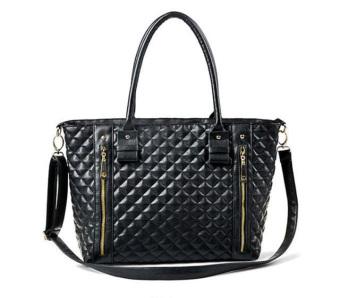 Women Handbag Shoulder Bag Tote Case Purse Leather Messenger Wallet Hobo Black