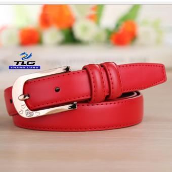 Thắt lưng nữ cao cấp Thành Long TL3889 5(đỏ)