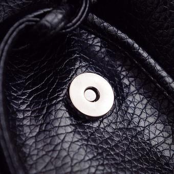 Women Leather Handbag Cartoon Owl Fox Shoulder Messenger Bag - intl