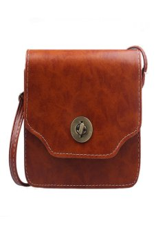HKS Women Handbag Shoulder Bag Brown - intl