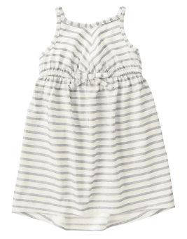 Váy 2 dây Crazy8 Gray Stripe (ghi)