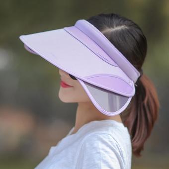 Mũ nửa đầu chống nắng có tai che nhiều màu