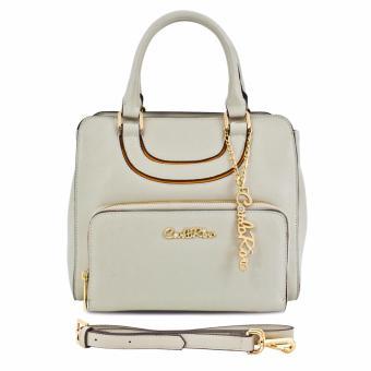 Túi xách tay ngăn phụ ngoài Carlo Rino 0303333-001-21 (màu beige)