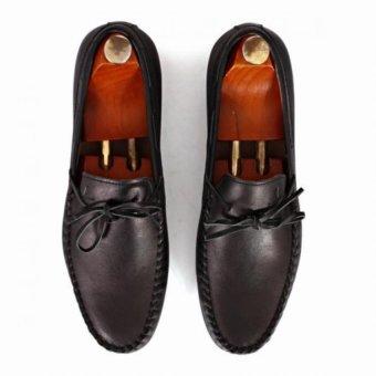 Giày mọi Alessandro Luigi LG92-70 (Đen)