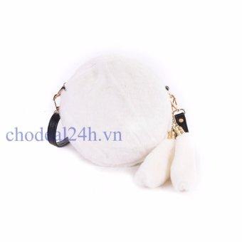 Túi Lông Thú Đuôi Hồ Ly Chodeal24h.vn - Trắng