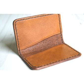 Ví đựng thẻ, tiền lẻ da mộc LDD0058 Minimalistic phong cách Châu Âu tối giản (DA THẬT XUẤT KHẨU)