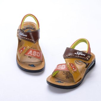 Summer Sandals Shoes 2017 Boys General Leather Children Shoes Boys Sandals - intl