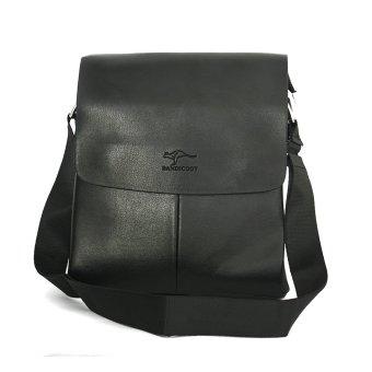 Túi da đeo chéo nam Bandicoot BC02 (Đen)