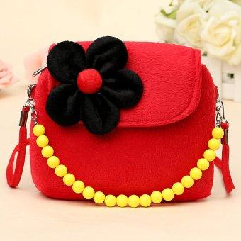 2 Strap New Children Girls Kids Princess Package Messenger Shoulder Bags Handbag Red NEW - intl