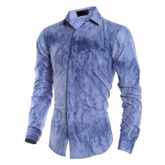 Áo sơ mi hàng nhập chất vải mềm mại ( màu xanh)