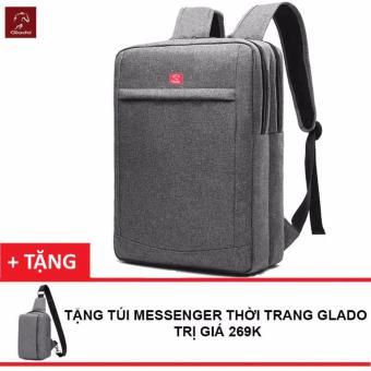 BaloThời Trang Nam Zapas BLC011 (Xám) + Tặng Túi Messenger Glado DCG025