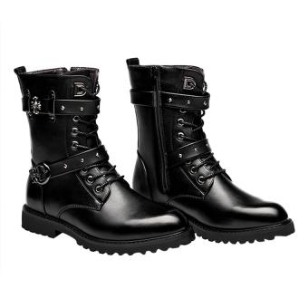 Giày boot nam Family shop GN12 (Đen)
