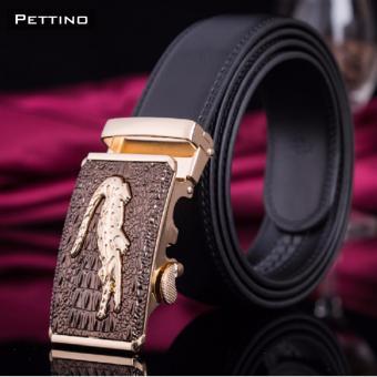 Thắt Lưng Nam Cao Cấp - Pettino TN01 (mặt nâu)
