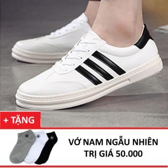 Giày Sneaker Nam Zapas –GS030 ( Trắng ) + Tặng Vớ Nam