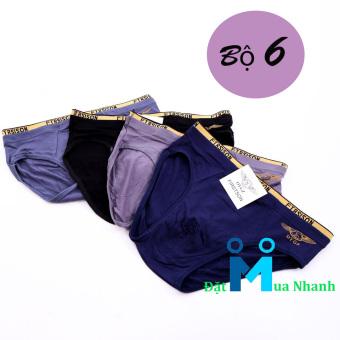 Bộ 6 quần lót nam FIRST SON siêu mịn - F06