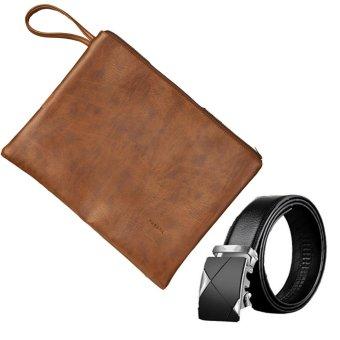 Bộ ví da cầm tay tặng kèm thắt lưng A1TGB