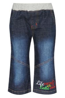 Quần jeans lửng bé trai V.T.A.Kids BT405700 (Xanh đậm)