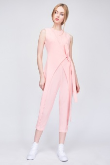 Candeblanc Wrap jumpsuits Rose Quartz - S16T062