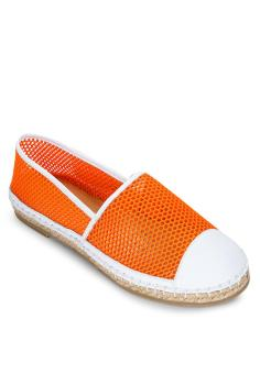 Giày Slip On Lưới cam SCALA
