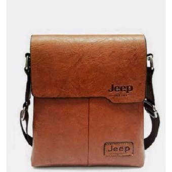 Túi đeo chéo nam thời trang jeep (màu bò)