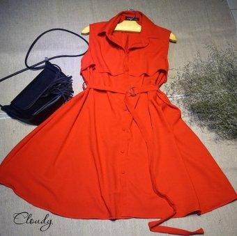 Đầm suông Xavia Clothes Cloudy (đỏ)