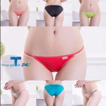 Bộ 4 quần lót nữ cotton Viscose siêu mềm siêu thoáng dây mảnh