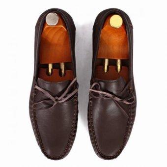 Giày mọi Alessandro Luigi LG92-67 (Nâu)