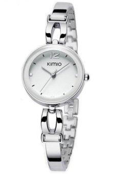 Đồng hồ nữ dây inox Kimio K466L (Trắng)