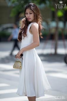 Đầm Xòe Dáng Dài