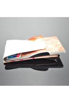 HKS Slim Double Sided Money Clip Credit Card Holder Wallet - intl
