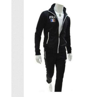 Bộ quần áo thể thao nam Titishop DTT29 (ĐEN)